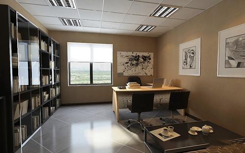 办公室装修效果图欣赏
