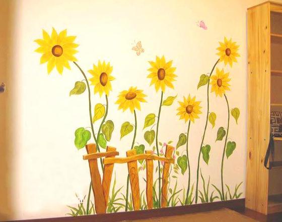 diy手绘墙画,让你的家与众不同!