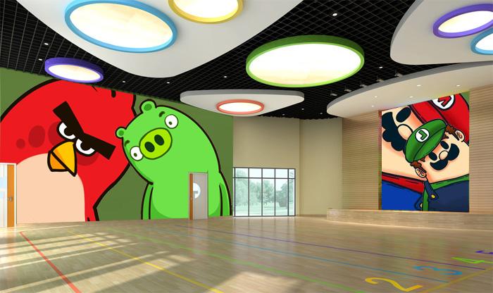 幼儿园墙体彩绘 如何绘制?