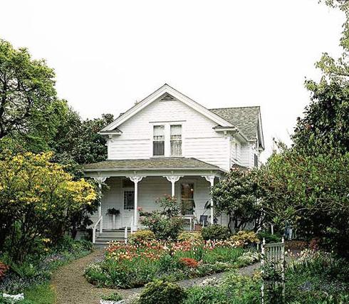 欧式别墅庭院设计案例-南通齐装网