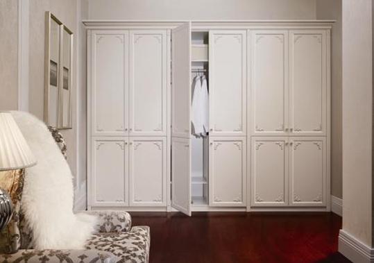 衣柜平开门是什么样?尺寸有什么要注意的