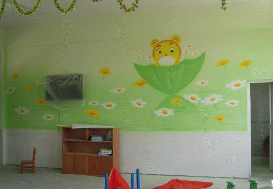 画幼儿园墙体彩绘有哪些步骤?