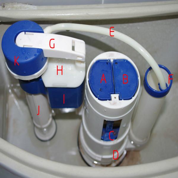 马桶水箱水位调节方法