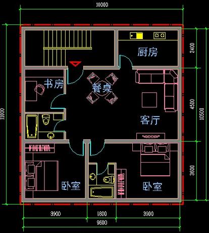 房屋平面图如何设计,房屋平面设计图欣赏
