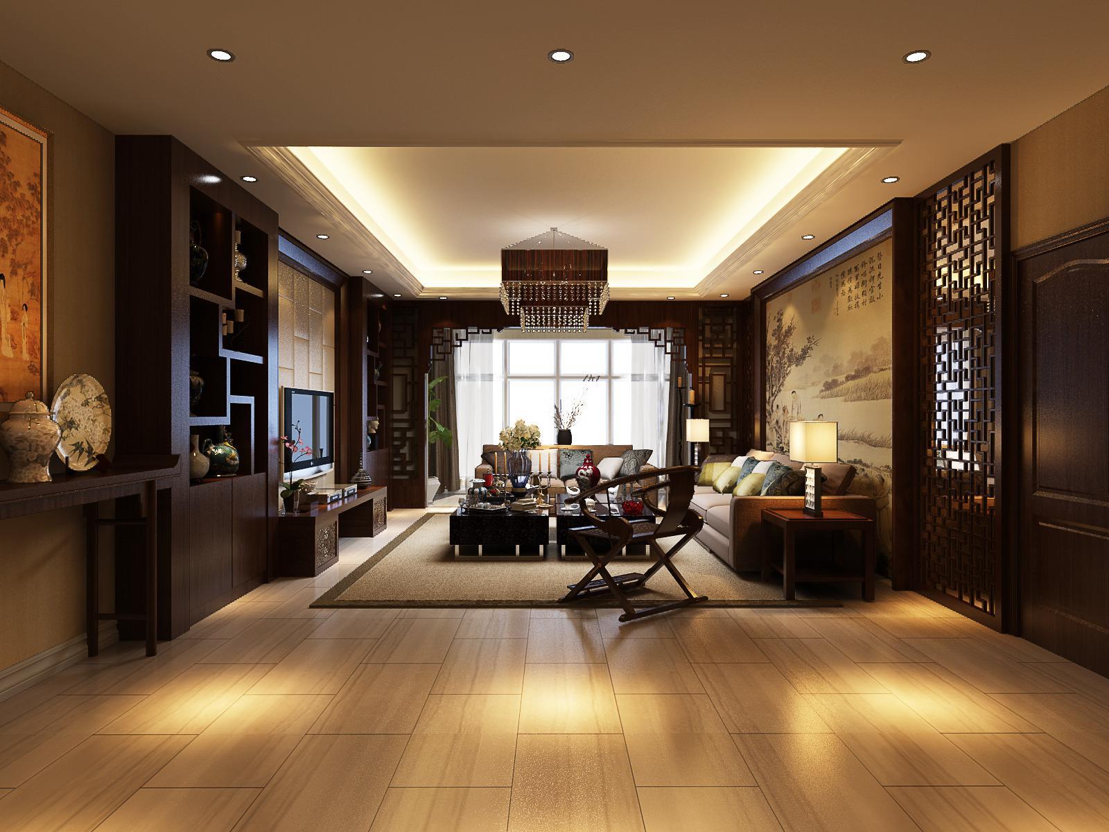 中式风格客厅装修要点