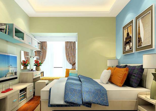 在卧室装修中,一般业主都是比较喜欢自己爱好的风格,参照风格进行装修,而且为了保证自己的卧室能够有很好的隔音效果,一般在处理的时候也是会使用比较多的隔音材料。大家想要看看我是装修的效果吗?不妨看看最新2015年合肥卧室装修效果图。    卧室采用十分自然的田园风格,加上地板使用了比较明显的木质地板,床位虽然十分的简单,但是也不失一种田园美。在加上周围的自然的搭配,以及飘窗处理,整个空间显得比较自然,比较温馨大方。    对于喜欢颜色各异的人来说,在卧室中一般都会使用上自己喜欢的颜色,这一种黑与白的对比,