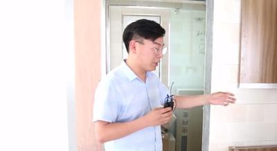 小户型卫生间装修案例!设计师现场讲解卫生间玻璃隔断做法!