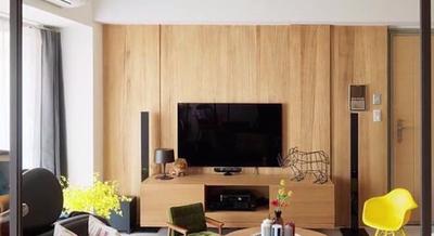百看不厌的电视背景墙是用了这两种材质,看完才恍然大悟