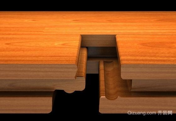 锁扣地板效果图