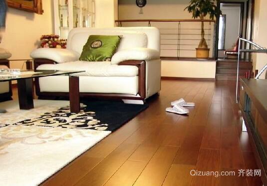 美乐时木地板效果图