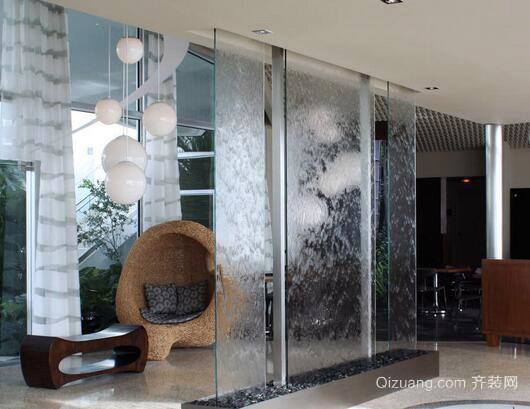 水玻璃效果图