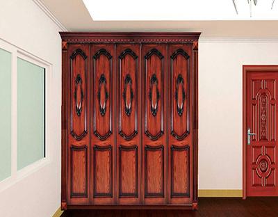 实木衣柜高大上 清洁保养尤重要