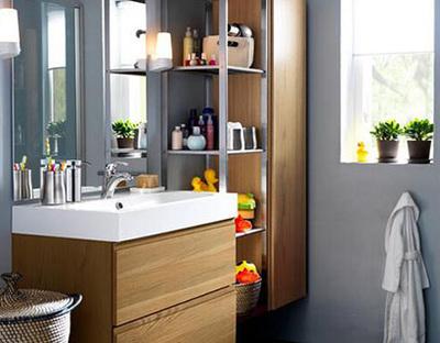浴室收纳有技巧 再多用品也不愁