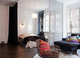 6个客厅隔断设计 家居更显温馨感