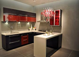 整体橱柜定制如何选择 给厨房增添色彩