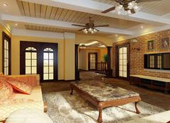 客厅装修新潮流 盘点吊扇灯的优点