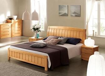 实木床木材介绍 实木床选购经验