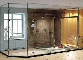 淋浴房自洁玻璃有哪些优点 没有蒸气残留烦恼