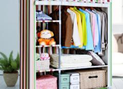 简易衣柜哪种布料好 这三种推荐给你