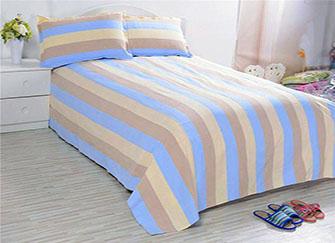 土布床单好不好用 比想象中好了不是一点点
