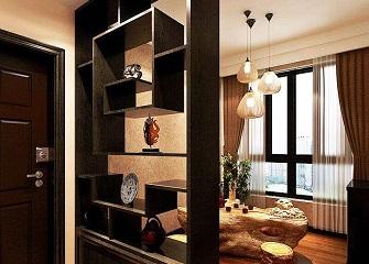 博古架已成中式家装标配 让中式家装更有韵味