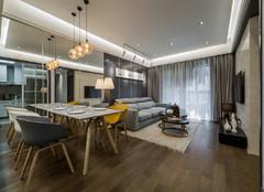 泰安80㎡现代港式风格两室两厅装修案例 给你一个简约时尚的家!
