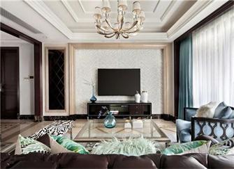 电视背景墙几种流行的装修方式 从此不止电视+装饰柜