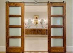 厨房隔断门选哪种    隔断门安装技巧