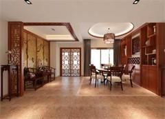 中式装修风格地面地板装修材料选择