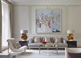 客厅石膏线吊顶装饰做法大全 百搭的石膏线装修效果图
