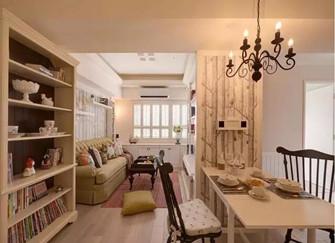 富顺70平小户型设计案例解析  温馨跟房子大小无关