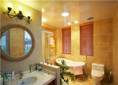 卫生间瓷砖什么颜色好 用对搭配方法很重要