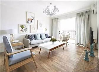 90平北欧风格小户型装修案例 清新自然和舒适