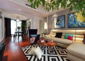 宝应127平米12万装修效果图 一个色彩绚烂的家
