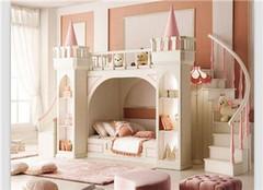 儿童床带滑梯 盘点滑梯儿童床5种风格