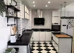 厨房装修效果图欣赏 厨房瓷砖装修搭配技巧