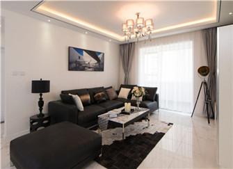 120平三居室现代简约风格装修精选案例分享  大爱简约风
