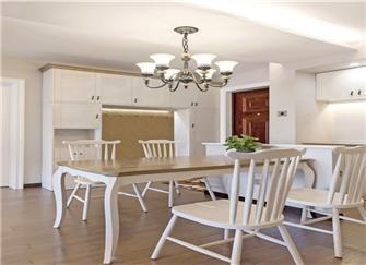 小户型美式简约装修案例 打造浪漫120平米两居室