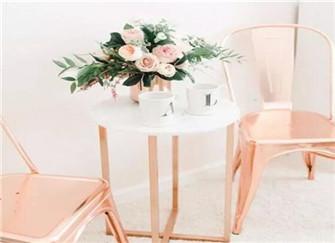 网红同款玫瑰金家居单品  让你为家增添精致的轻奢感