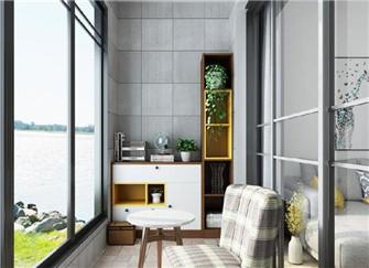 120平三室两厅装修案例 将榻榻米应用到