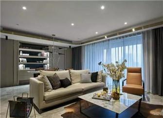 现代风格质感家居装修案例  高雅不沉闷大气不浮夸