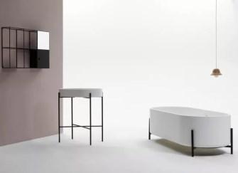 7款圆形浴缸效果图欣赏 卫生间圆形浴缸效果图