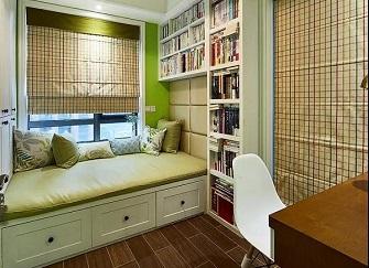 小书房怎么装修显?#20040;?小户型书房装修设计案例