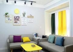 90㎡两室一厅简约北欧装修风格 90平米装修案例