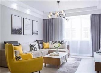 小户型两居室现代简约风装修案例分享  清清爽爽简简单单