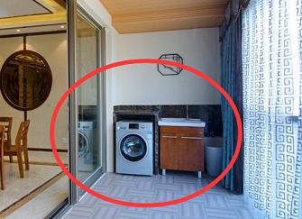 洗衣机放阳台好不好