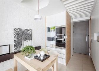 98平两居室最简约装修案例   温馨舒适堪比 98平样板间