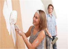 乳胶漆怎么刷的均匀 掌握方法墙壁可以自己刷
