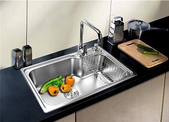 厨房水槽单槽和双槽有何差别?厨房水槽的正确选购方式
