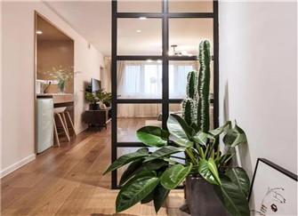 86平两居室装修案例 尽显清新文艺范儿
